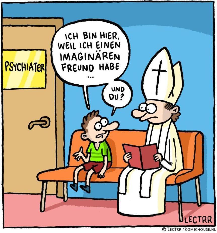 """Hurra! Wir dürfen den Cartoon """"Imaginärer Freund"""" offiziellnutzen"""
